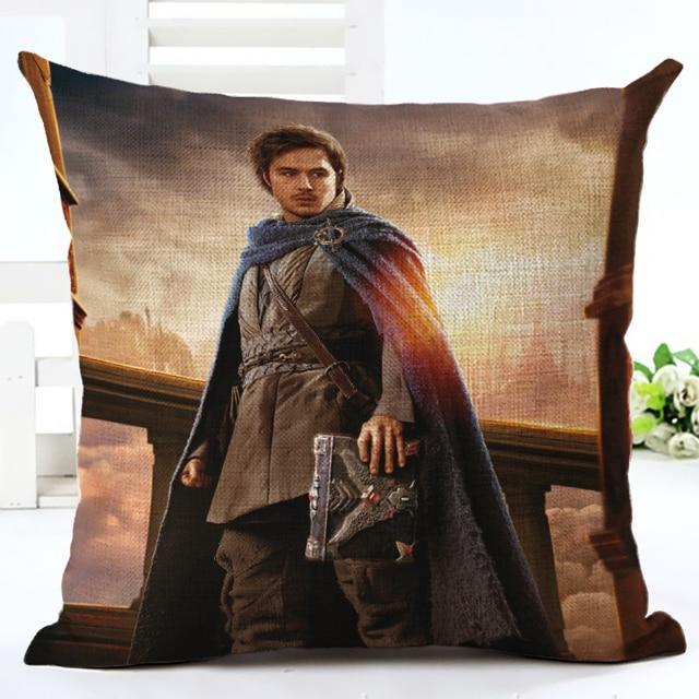 WOW Warcrafted movie Llane Wrynn Lothar Khadgar The ALLIANCE Throw Pillow Case Home Sofa  Backrest Decoration Cushion Cover 3D