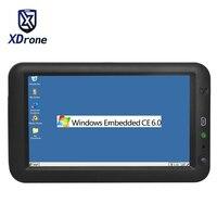לוח תעשייתי משובץ מחשב 7 Inch Ethernet Lan RJ45 יציאת RS232 Windows CE 6.0 USB GPS Bluetooth לינוקס כל במחשב אחד