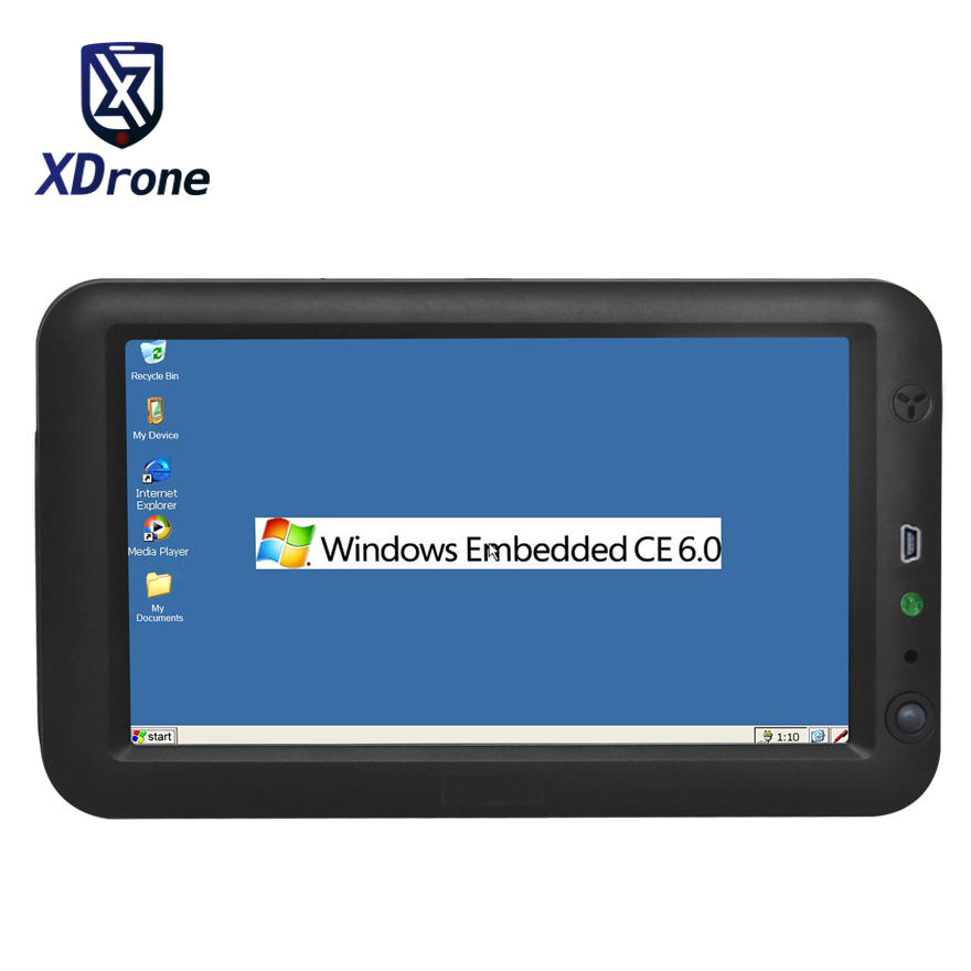 Industrial Tablet Embedded PC 7 Inch Ethernet Lan Port RJ45 RS232 Windows CE 6.0