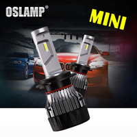 Oslamp Hi Lo Beam H4 Led Bulbs For Car 6000K 2pcs LED Car Headlight 2WD 4WD
