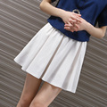 Yichaoyiliang College Style Linen Micro Mini Shorts For Women Summer Vestidos Cortos Linen Skort Shorts