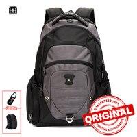 Suissewin Brand Backpack Men Swiss 15 6 Laptop Backpack Bag 36L Men S Backpack Big Sac
