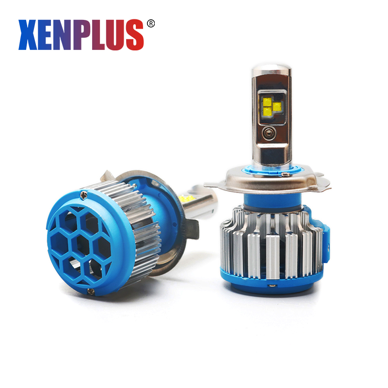 Xenplus Automobile Phare Ampoule H4 LED turbo H7 H11 H1 H3 HB4 9005 880 H27 9004 H13 T1 8000LM 80 W 12 V Phare antibrouillard