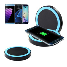 Portable Qi Wireless Power Charger Charging Pad For Samsung