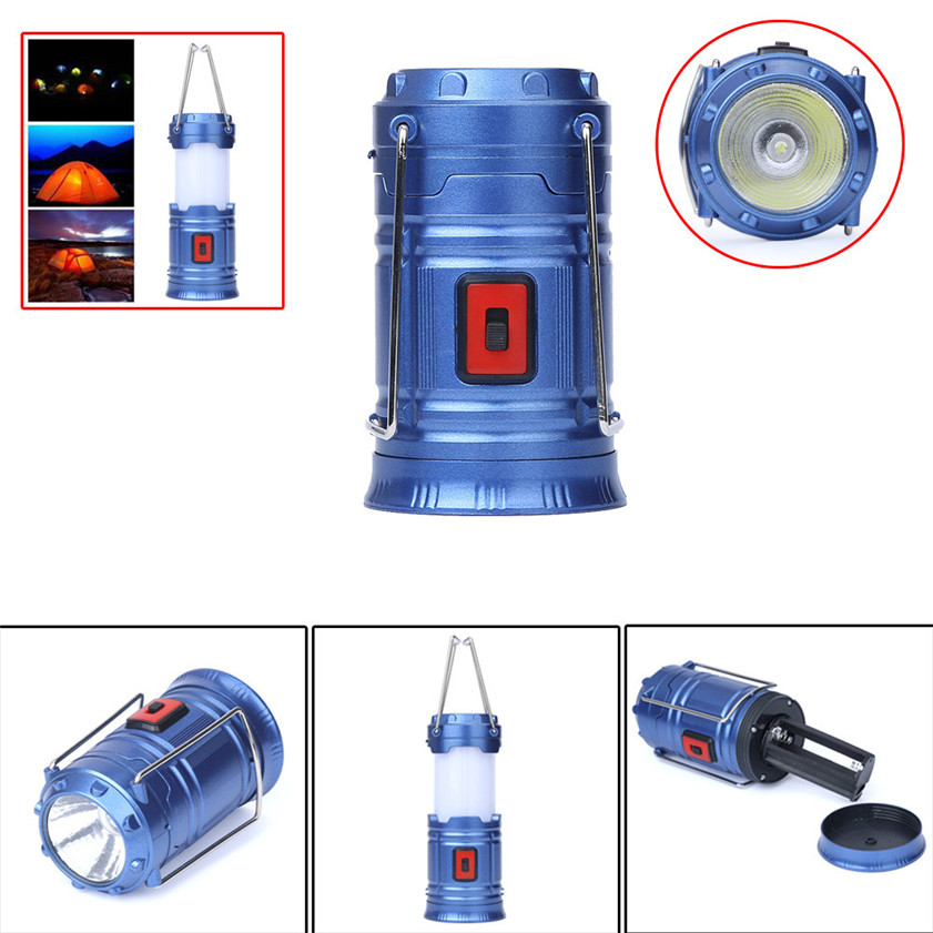 High Quality Portable COB LED Super Bright Camping Lantern Tent Fishing Outdoor Lamp Light