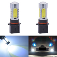 2pcs P13W PSX26W Led Car Lights 7.5W COB Led Driving Running Lights Fog Light Car Led Bulb 500Lm 6000K White For LED PG18.5d-1