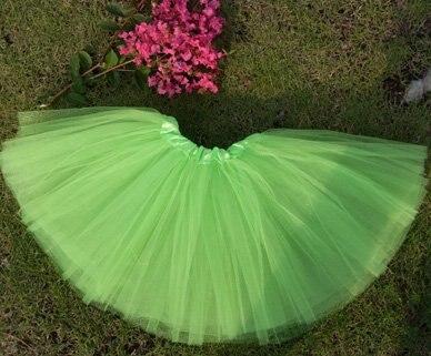 3 слоя Тюль неоновые балетные пачки танцевальная юбка