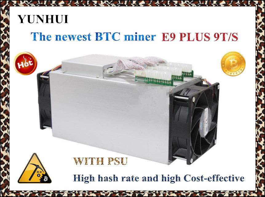 Newest 14nm Asic Miner BTC Miner Ebit E9 Plus 9T  (with psu) better than Antminer S7 and low price than S9 good economy miner . 2016 new antminer apw3 12 1600 a3 1600w s5 s5 s7 psu power supply bitmain antminer apw3 12 1600 psu series 1u psu s9