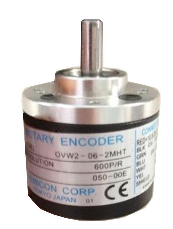 New OVW2-06-2MHT rotary encoder OVW2-06-1MHT 600P/R photoelectric encoder e6a2 cs5c 50p r rotary encoder new e6a2cs5c 50p r 50pr compact size e6a2 cs5c