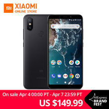 Global Version Xiaomi Mi A2 4GB 32GB 5.99″ 18:9 Full Screen Snapdragon 660 Octa Core AI Dual Camera Smartphone Android One OS