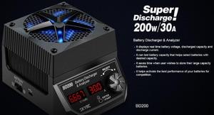 Image 4 - SKYRC BD200 مُحلل بطارية تفريغ 200 واط 30A 5.4 فولت 35 فولت جهاز اختبار حمل البطارية ثابت الطاقة ثابت الحالي اختبار السعة