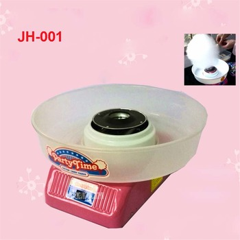 JH-001 Cotton candy machine children color hard candy DIY cotton candy  home Christmas gifts 220V/50 Hz Basin diameter 35cm