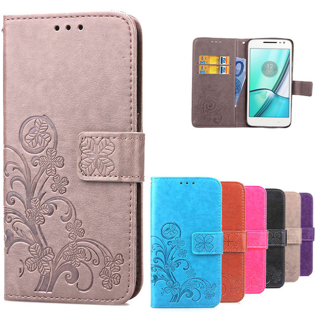 super popular b80f1 37ee1 US $3.72 16% OFF|For Motorola Moto G4 Play Case Luxury Soft TPU & Leather  Wallet Flip Phone Cases Cover For Motorola G4 Play G 4 Play-in Wallet Cases  ...