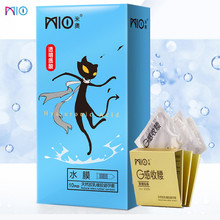 durex adult game natural latex condoms ribbed and dotted extra sensitivity large size bumps spike condom for men high quality MIO Spike Sex Condom Hyaluronic Acid Lubricant Dotted Condoms for Men Natural Latex Penis Sleeves Kondom Adult Erotic Product