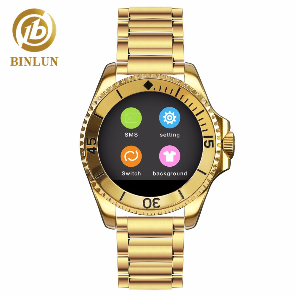 BINLUN Smart Watch Bluetooth Touch Screen Watch for iPhone Android Smartphone binlun smart watch bluetooth touch screen watch for iphone android smartphone