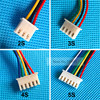 10pcs/kit JST XH Connector 2-6S Balance Charger Cable Wire Adapter Plug each size 2pcs