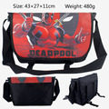 2017 Cartoon Bag Hero Deadpool X Man Messenger Canvas Bag Shoulder Bag Sling Pack School Bags 43*27*11CM