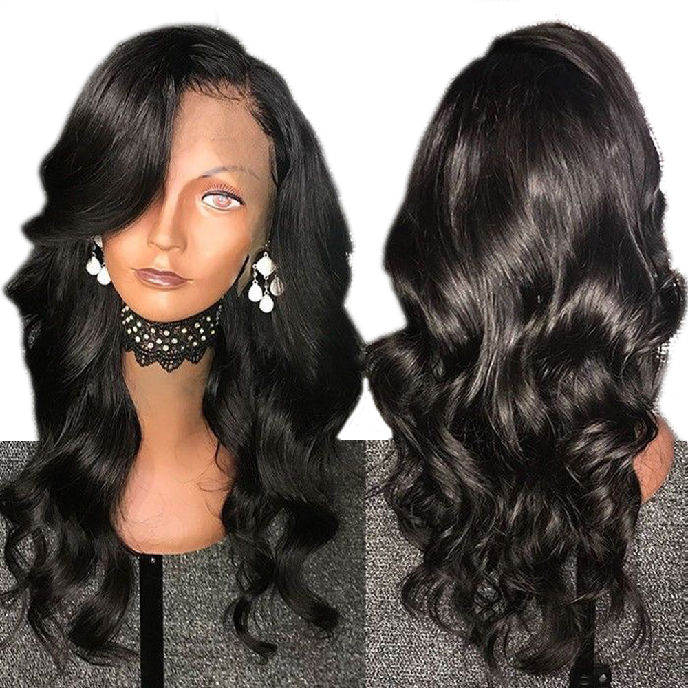 Eversilky Free Part Brazilian Body Wave 360 Lace Frontal Wig For Women Lace Front Wig With Baby Hair Remy Human Hair Wigs