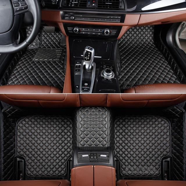 Customized Car Floor Mats For Mercedes Benz S Class