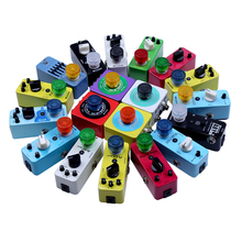 10 pcs Mooer Footswitch Topper Random Color Mix Colorful Plastic Bumpers Footswitch Protector For Effect Pedal
