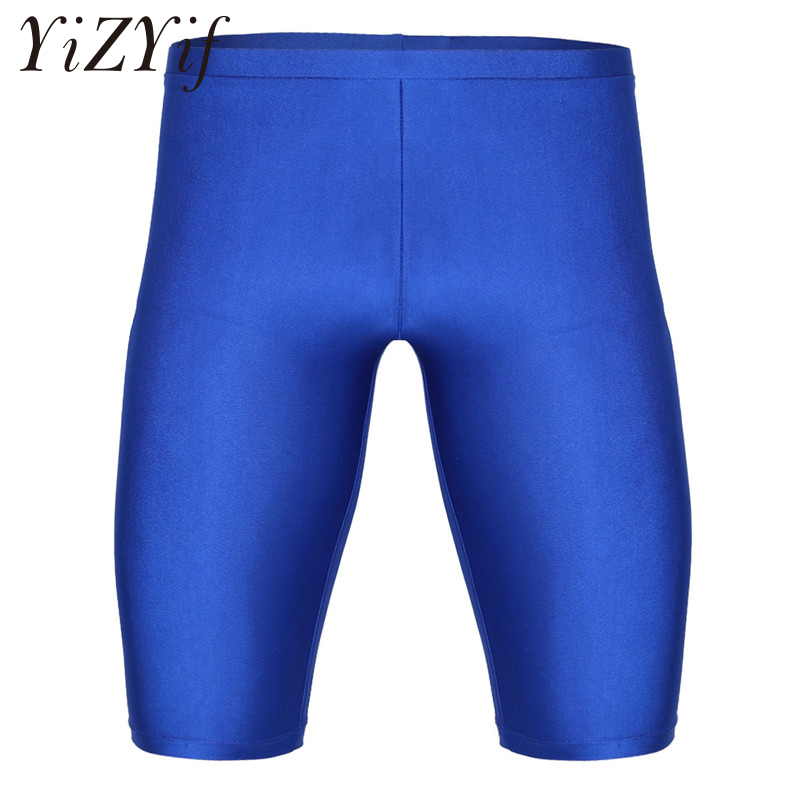 2018 Summer new mens fitness   Board     shorts   Fashion leisure gyms Bodybuilding Workout male Quick Dry Compression   short   pants