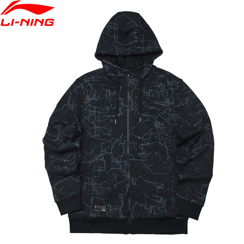 Li Ning Men The Trend Hoodie Hooded Regular Fit 88 Cotton 12 Polyester LiNing Comfort Sports