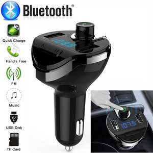 USB Charger Mp3 Player Car MP3 Player Universal Bluetooth Car FM Transmitter