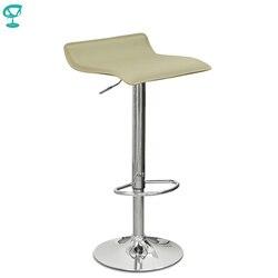 94524 Barneo N-38 Leder Küche Frühstück Barhocker Swivel Bar Stuhl creme braun kostenloser versand in Russland