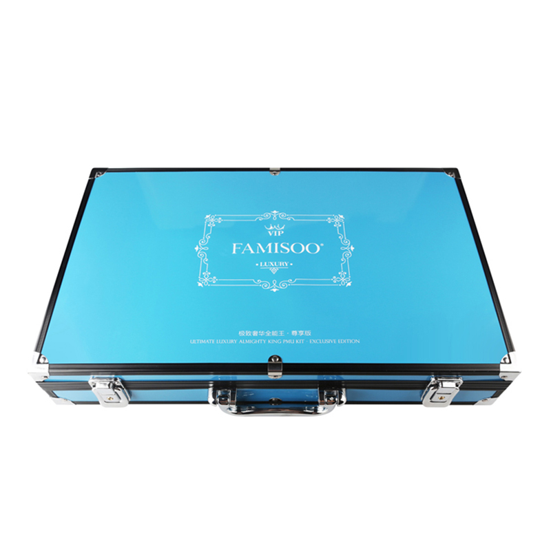 FAMISOO One Set Professional Tattoo Master Ultimate Luxury Almighty King Permanent Makeup Pigment Machine Universal Set in Tattoo Inks from Beauty Health