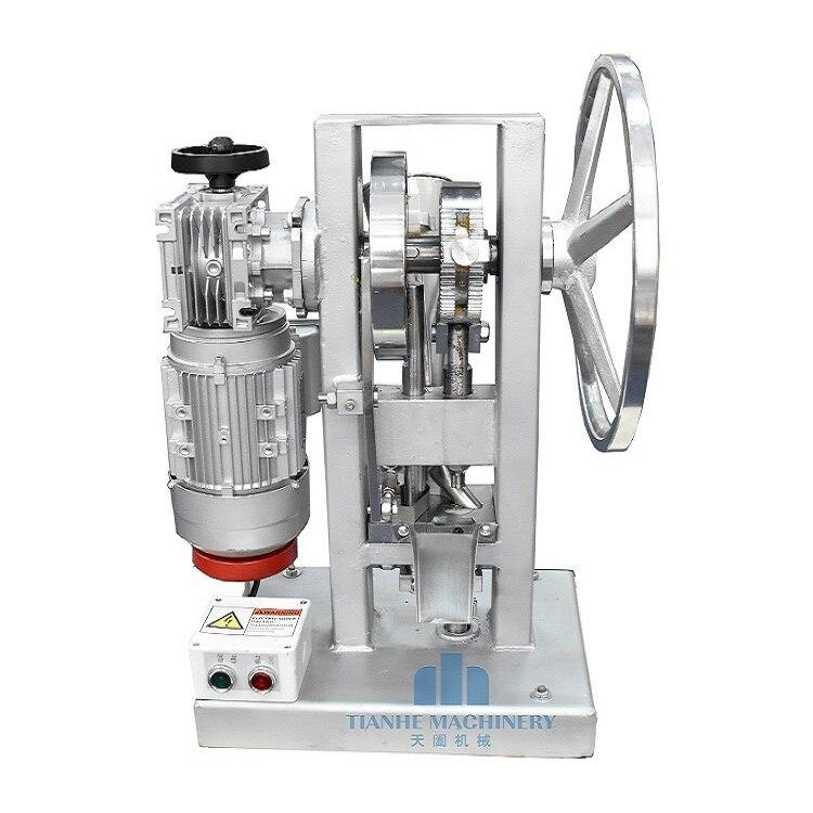 Único soco tablet imprensa máquina de doces máquina máquina da imprensa do Novo TDP5 THDP5 máquina pill criador
