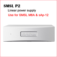 SMSL P2 Linear Power Supply Audio Amplifier Dual 5V output Amplifier Desktop Use for SMSL M8A & sAp 12 Hifi Amplifier Audio