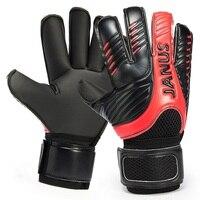 2016 New Professional Mens Soccer Goal Keeper Gloves Finger Protection Thick Soccer Bola De Guantes Futbol Luvas De Guarda Redes