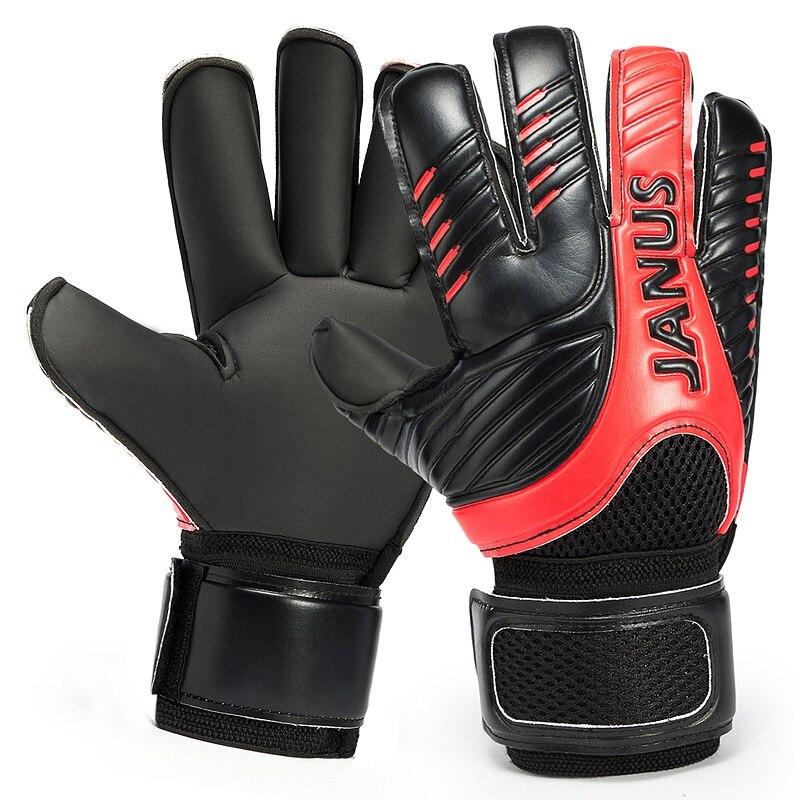 New Survetement Professional Men Soccer GoalKeeper Gloves Finger Protection Thick Soccer Gloves Kids Football Goal Keeper Gloves