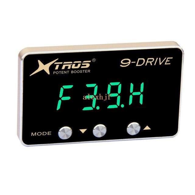 TROS Booster Potent octava 9-Drive Electronic Throttle Controller 5mm TP-902 para Maserati Quattroporte Ghibli (M156) 2014 ~ EN