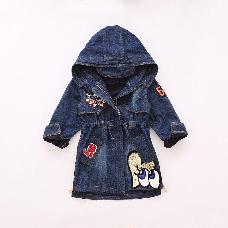81ec6b3a2 2019 bebé niñas prendas de vestir exteriores abrigos y chaquetas de primavera  niños bordado abrigo de