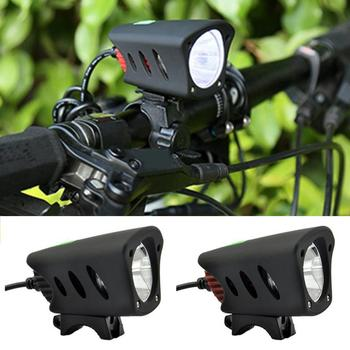 5 modes Bike Light Lamp 800 Lumen T6 Waterproof Cycling Bicycle Front Light Flashlight USB + DC Cable Power