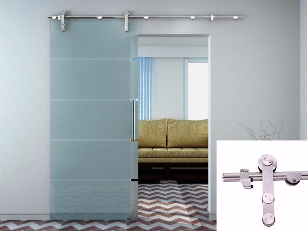 Usa Free Shipping 66ft Glass Door Modern European Stainless Steel