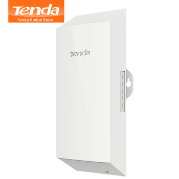 Tenda O1 500m Wireless AP 2.4GHz 8dBi Outdoor Point to Point CPE, Easy for Elevator Monitoring Video Surveillance Transmission