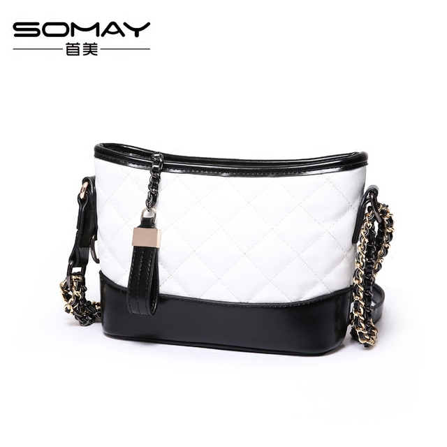 65216794dacf S0024 Women s Soft Leather Handbag High Quality Women Shoulder Bag Luxury  Brand Tassel Bucket Bag Fashion