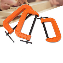 цена на 1PCS Fixing Clip G-type Woodworking Clamp Clamping Device Adjustable Woodworking Tools Multi-functional Heavy-duty G Clamp