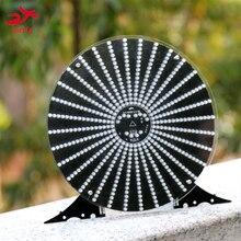 Zirrfa nouveau!!! Lampe de danse cubeed, avec boîtier en acrylique led kit de bricolage électronique