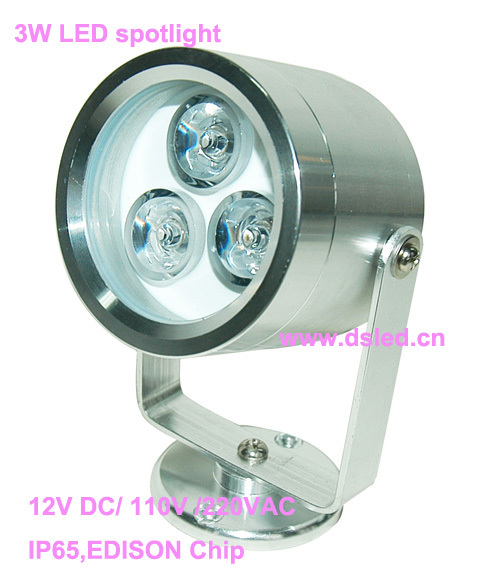 Free shipping by DHL !!  good quality 3W LED corner light,LED outdoor spotlight, DS-06-8-3W,3X1W,110-250VAC,2-year warranty used good condition vx4a66105 with free dhl