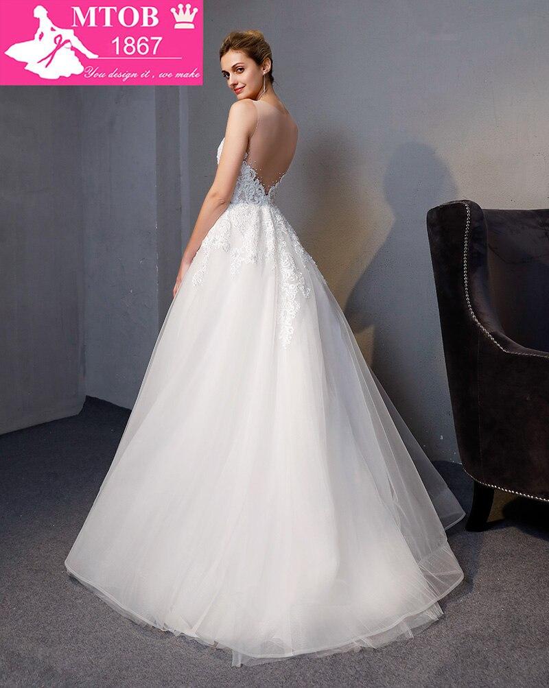 Νέα Άφιξη A-line πολυτέλεια Vintage νυφικό - Γαμήλια φορέματα - Φωτογραφία 4
