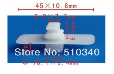 Frete grátis 100 pcs retentor de plástico suporte da pena para o carro