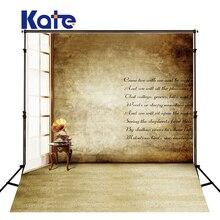 Kate Retro Tijolo Parede Fond Estúdio Photographie Janela Photocall Fundo Lavável E Sem Costura Fundos Para Estúdio de Fotografia