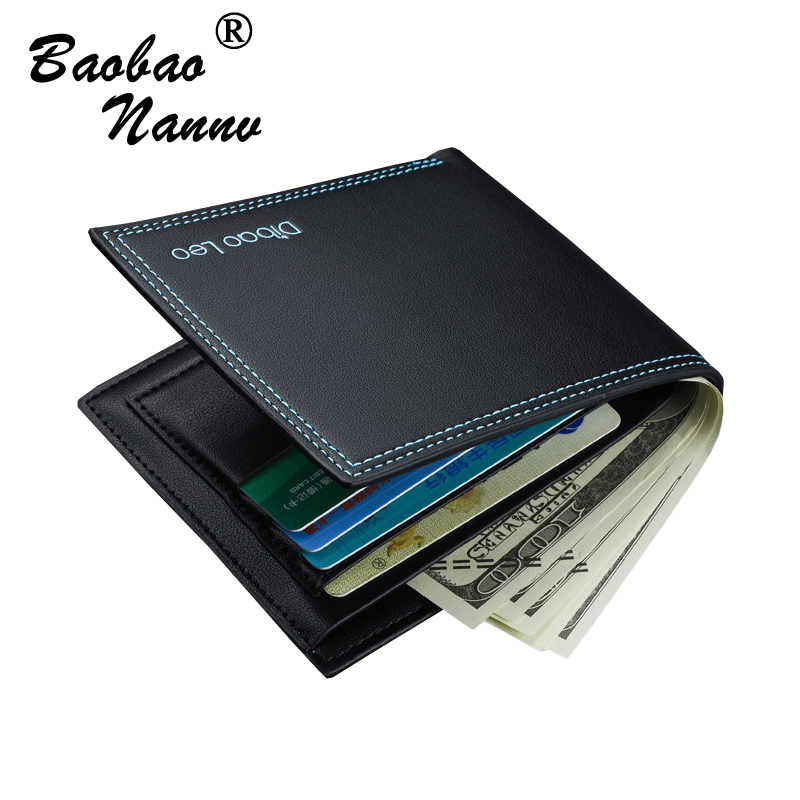 Transverse Wallet Men Leather Wallets Male Purse Money Credit Card Holder Vertical Coin Pocket Money Billfold Maschio Clutch men pu leather credit card holder billfold wallet purse checkbook clutch