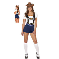 3 Pcs Top+ Rompers +Hat Sweet Study Partner Schoolgirl Costume Woman Sexy lingerie Uniform Study Girl Costume Set m40348