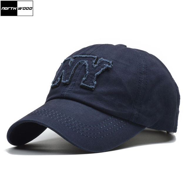 Northwood Brand Ny Letter Mens Baseball Cap Casual Dad Cap Women