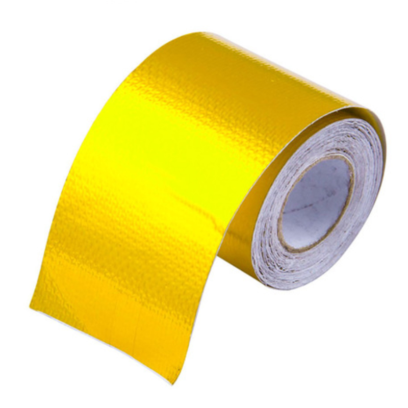 Reflect A Gold Thermal Tape Air Intake Heat Insulation Shield Wrap Reflective Heat Barrier Self Adhesive Engine