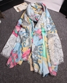 2015 Luxury brand desigua winter scarf women new design floral shawl excellent quality lady scarves